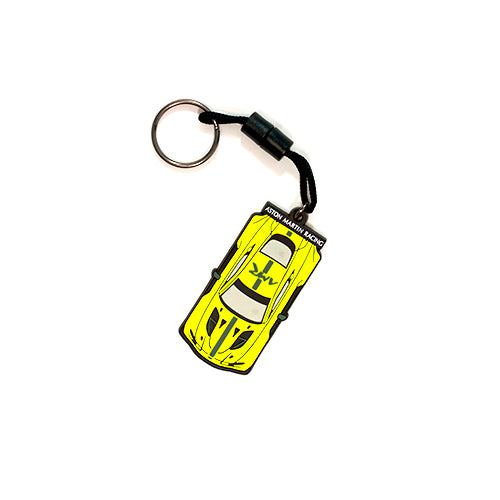 Aston Martin Racing Rubber Keyring
