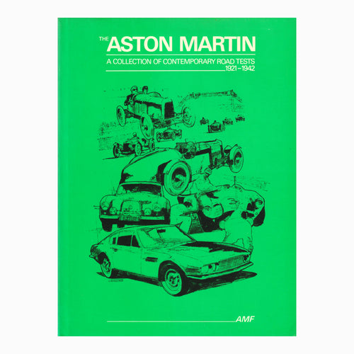 Book - Aston Martin Road Tests Vol 1-4