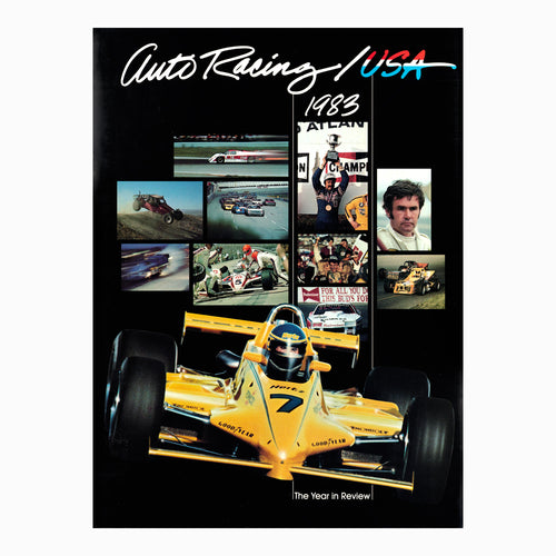 Auto Racing Book USA 1983