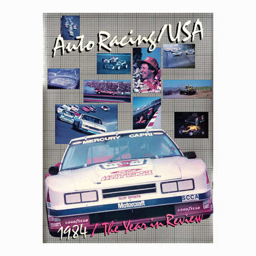 Auto Racing USA Book 1984 The Year in Review