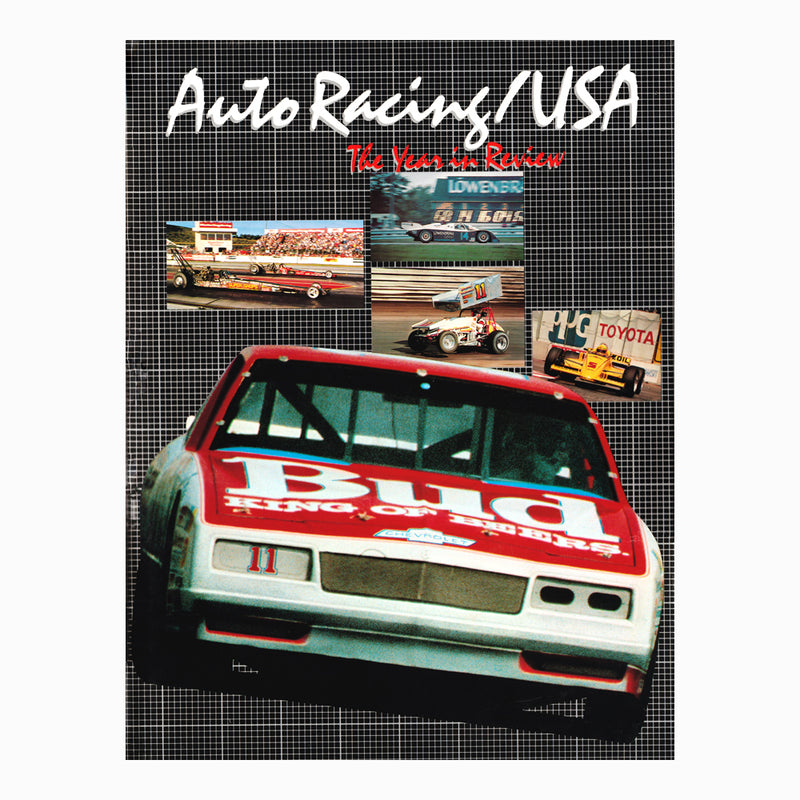 Auto Racing USA 1985 The Year in Review Book