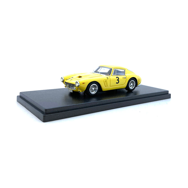 Bespoke Model 1/43 Ferrari 250 SWB #3 Yellow BES643