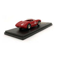 MG Model 1/43 Ferrari 166 MM Spyder #4 Red BES713