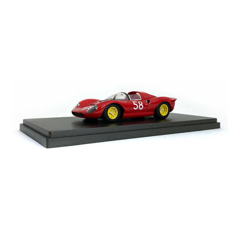 Bespoke Model 1/43 Ferrari 206 Dino #58 Red BES734