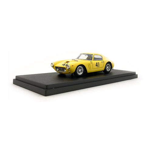Bespoke Model 1/43 Ferrari 250 SWB #41 Yellow BES806