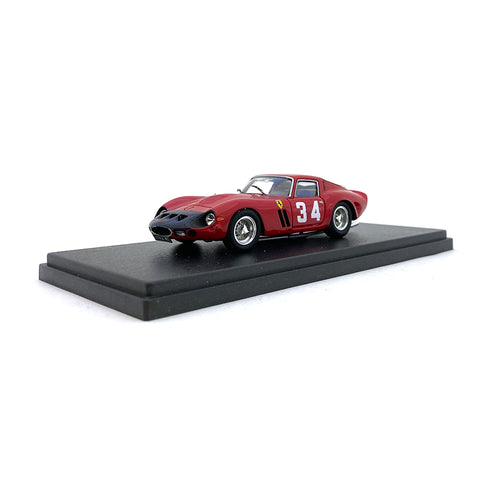 Bespoke Model 1/43 Ferrari 250 GTO #34 Red BES807