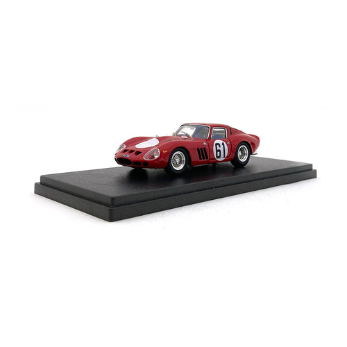 Bespoke Model 1/43 Ferrari 250 GTO #61 Red BES808