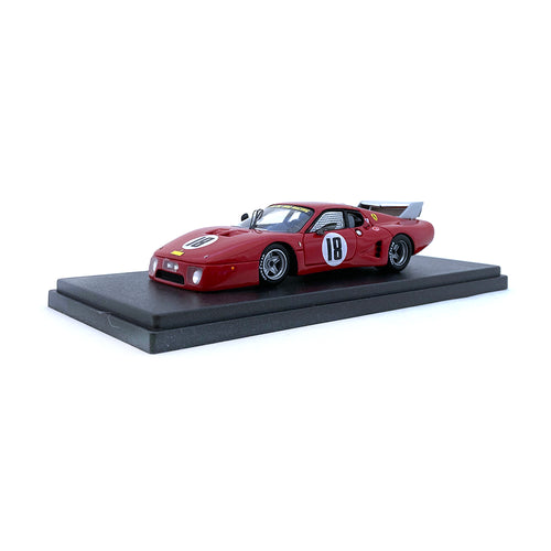 Bespoke Model 1/43 Ferrari 512 BB LM #18 Red BES810