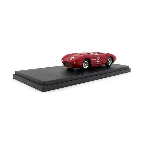 Bespoke Model 1/43 Ferrari 166 MM Spyder #2 Red BES811