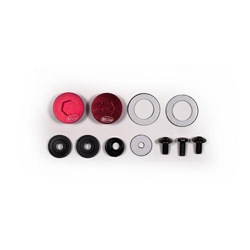 Bell Pivots & Screw Kit Red