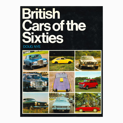 British Cars of the Sixties Book