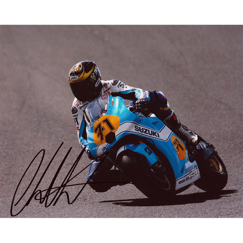 Signed Photograph - Chris Vermeulen