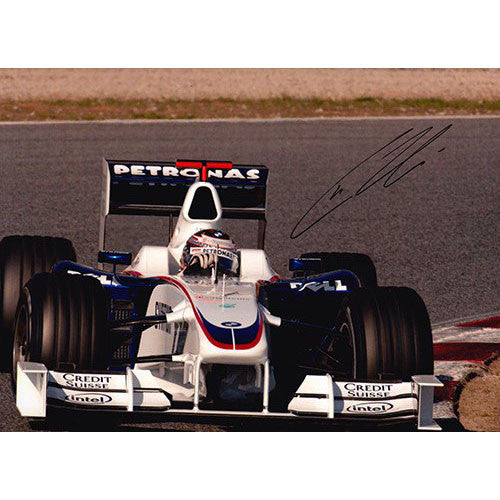Signed photograph - Christian Klien #2