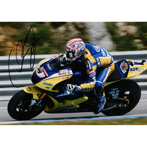 Signed Photograph - Colin Edwards