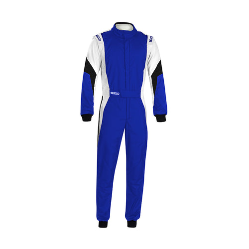 Sparco Competition Pro Racesuit Blue White Black