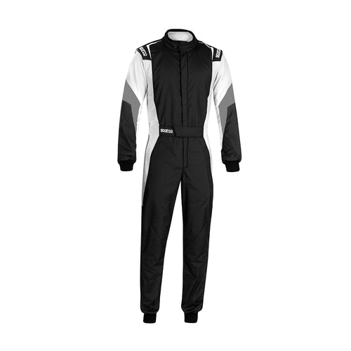 Sparco Competition Pro Racesuit Black White Grey