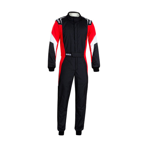 Sparco Competition Pro Racesuit Black Red White