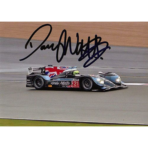 Signed Photograph - Danny Watts