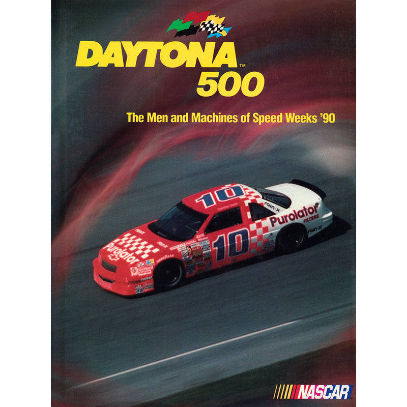 Daytona 500 Book The Men and Machines of Speed Weeks '90