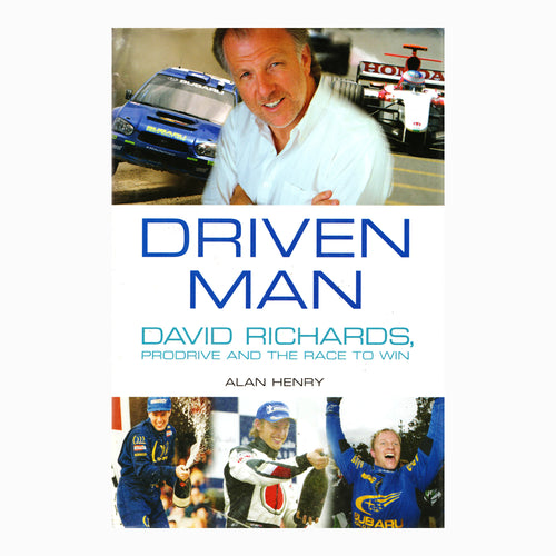 Book - Driven Man David Richards