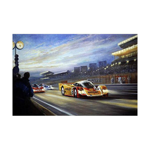 Alan Fearnley - Andrettis at Le Mans