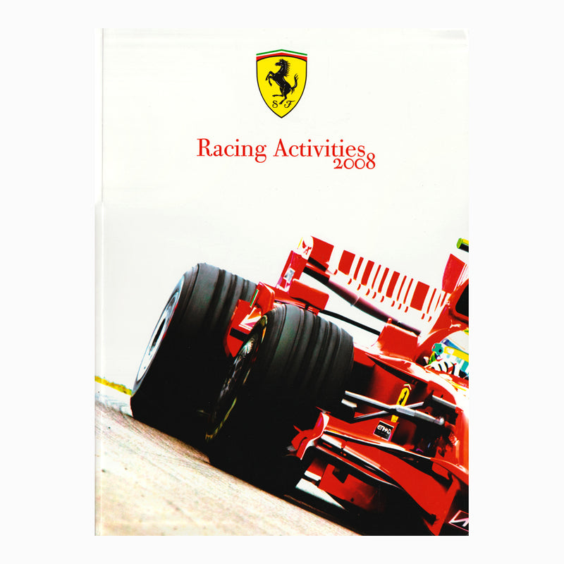 Book - Ferrari Racing Activities 2008