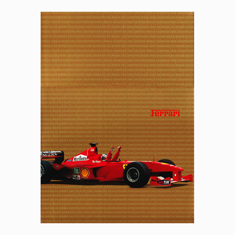 Book - Ferrari Yearbook 2000