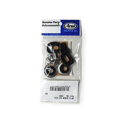 Arai GP6 Visor Screw Kit