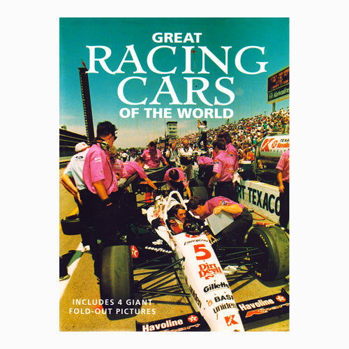 Great Racing Cars of the World Book