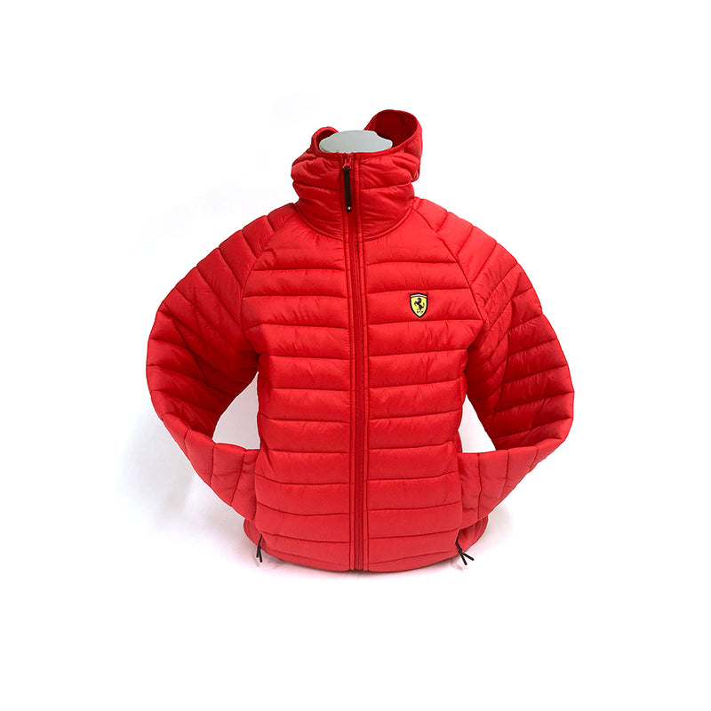 Ferrari Padded Jacket Red
