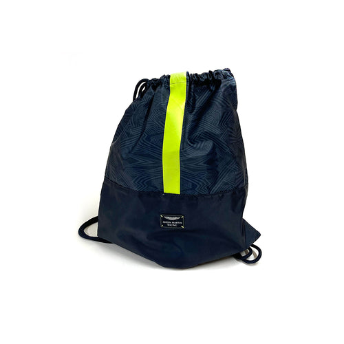 Aston Martin Racing Pullsbag Navy & Green Stripe