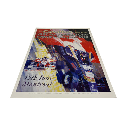 Canadian GP 1997 Official F1 Poster