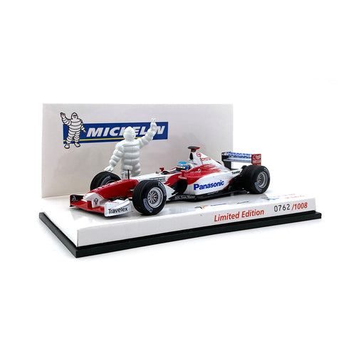 Minichamps 1/43 2002 Toyota TF102 Salo Michelin Edition