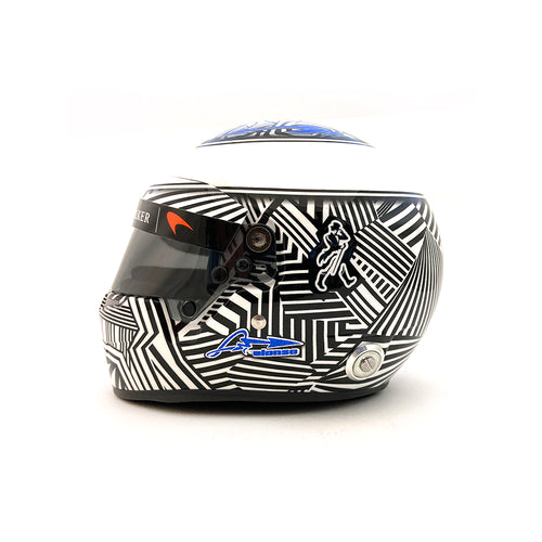 Bell 1/2 Scale 2017 Alonso Helmet Bahrain