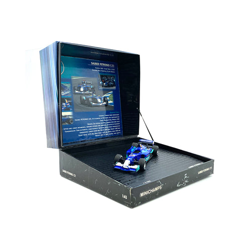 Minichamps 1/43 2002 Sauber C21 Soundbox 436020078