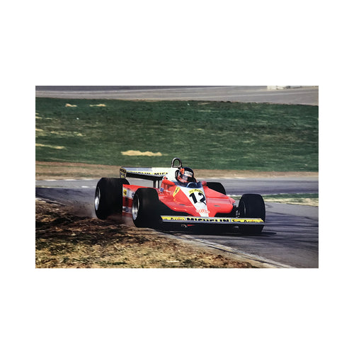 1979 Brands Hatch Gilles Villeneuve Photograph