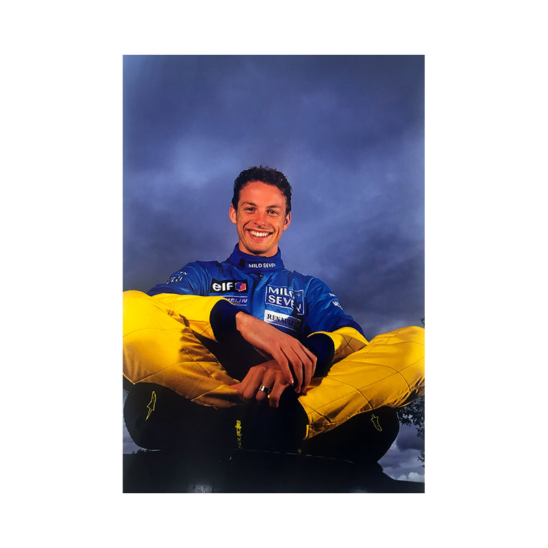 Jenson Button 2002 Photograph