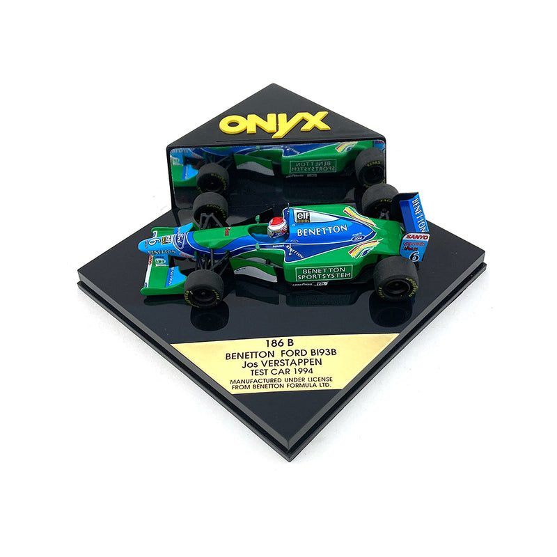 Onyx 1/43 1994 Benetton B193B Verstappen Test Car 186B