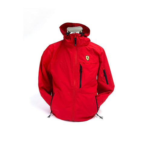 Ferrari Rain Jacket Red