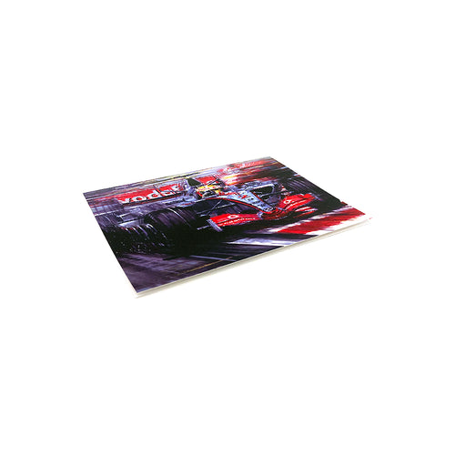 Lewis Hamilton 2007 by Nicholas Watts - Greetings Card NWC034