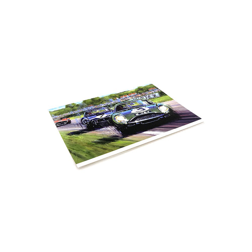 Goodwood 61 Tourist Trophy by Nicholas Watts - Greetings Card NWC042