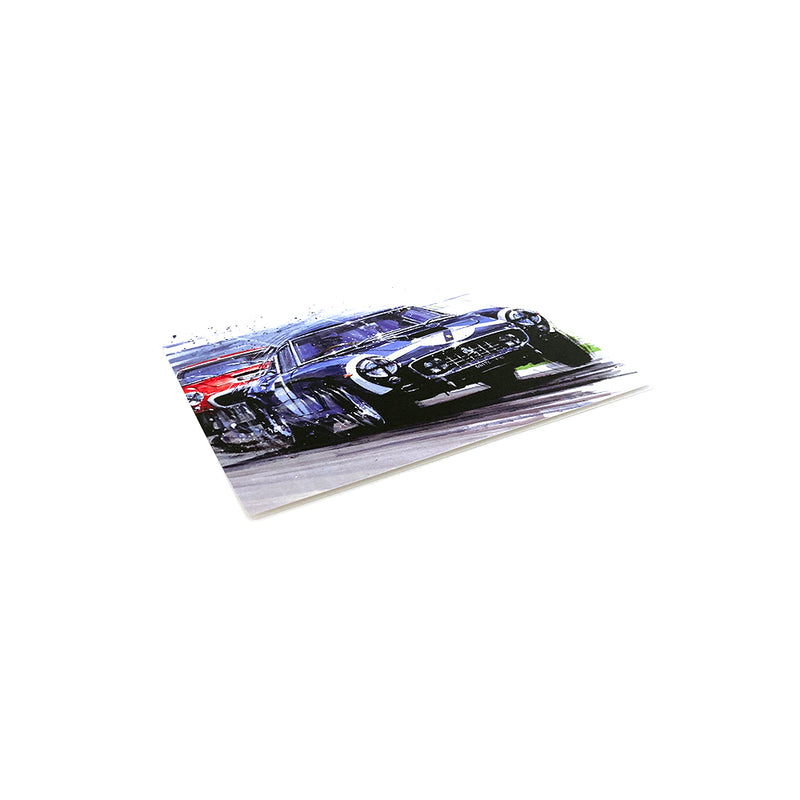 Goodwood 61 by Nicholas Watts - Greetings Card NWC043