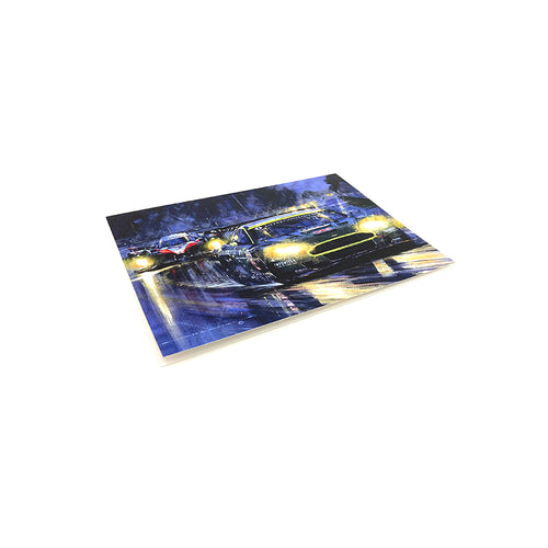 Historic Victory for Aston Martin by Nicholas Watts - Greetings Card NWC054