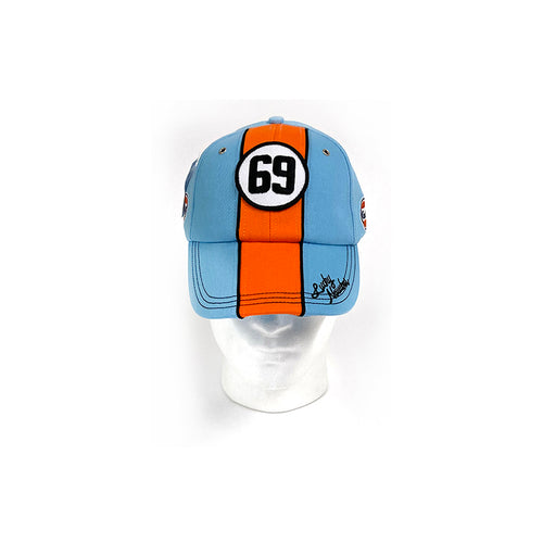Blue & Orange 69 Gulf Cap