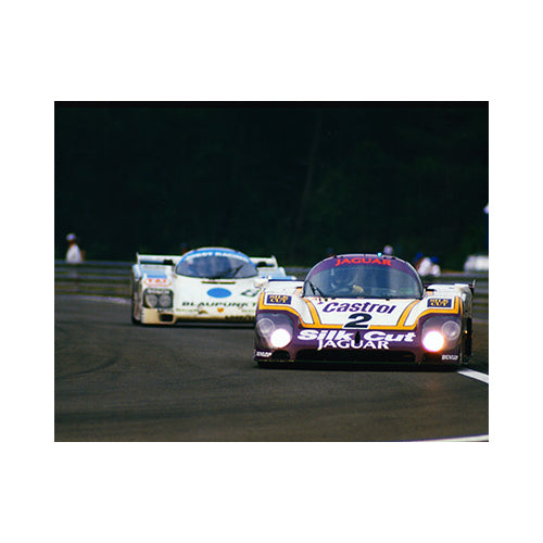 Silk Cut Jaguar XJR9 Le Mans 1988 Photograph