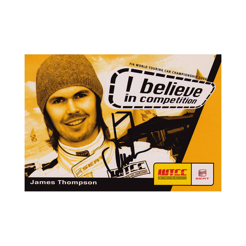 Signed Card - James Thompson