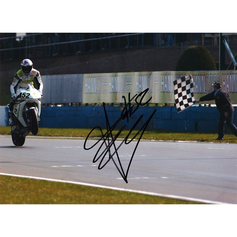 Signed Photograph - James Toseland