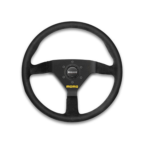 MOMO #78 Steering Wheel Black Suede 330