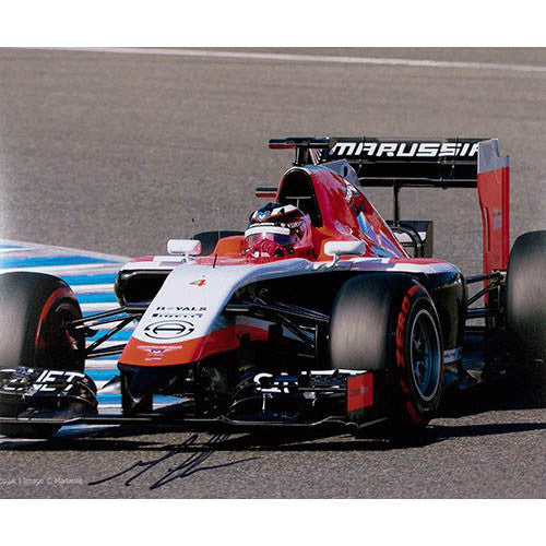 Signed photograph - Max Chilton