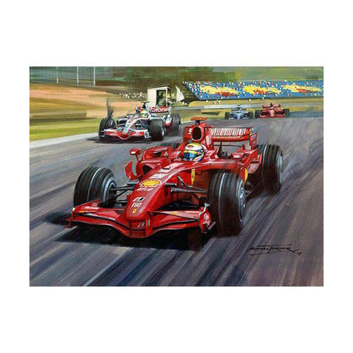 Michael Turner - 2007 Turkish Grand Prix Original painting